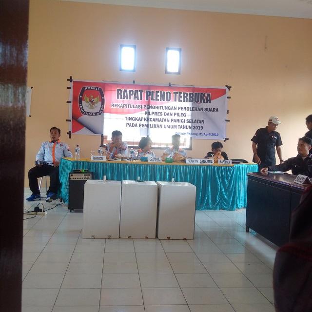 Jokowi Unggul Sementara di Desa Masari