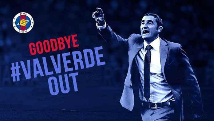 Kalah Laga Debut, Fans Barca Minta Valverde Dipecat