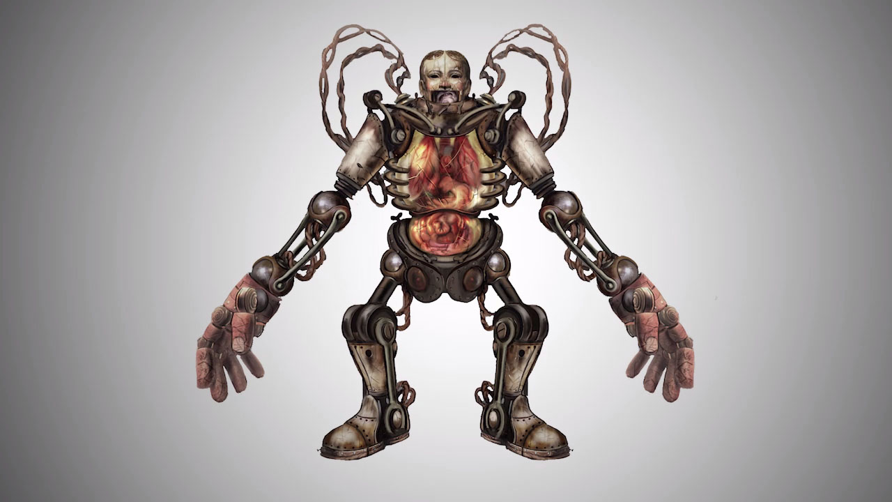 BioShock Infinite Meet The Handyman Gematsu