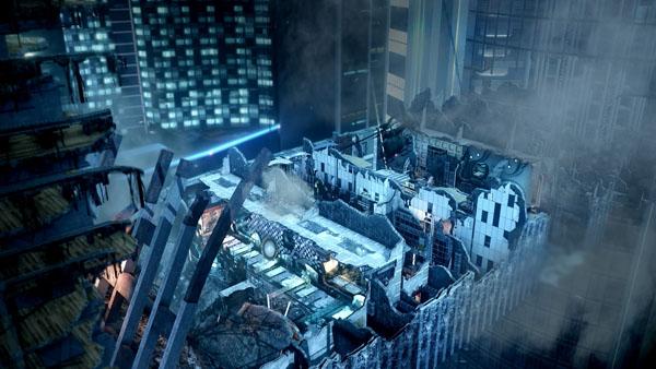 Call Of Duty Ghosts Free Fall Gameplay Trailer Gematsu