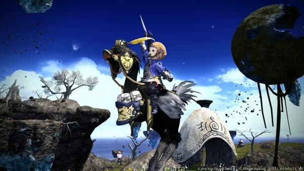 Final Fantasy XIV Heavensward Adds Dark Knight Job Flying Mounts Gematsu