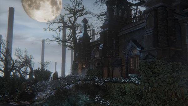 A look at Bloodbornes Gothic environments Gematsu