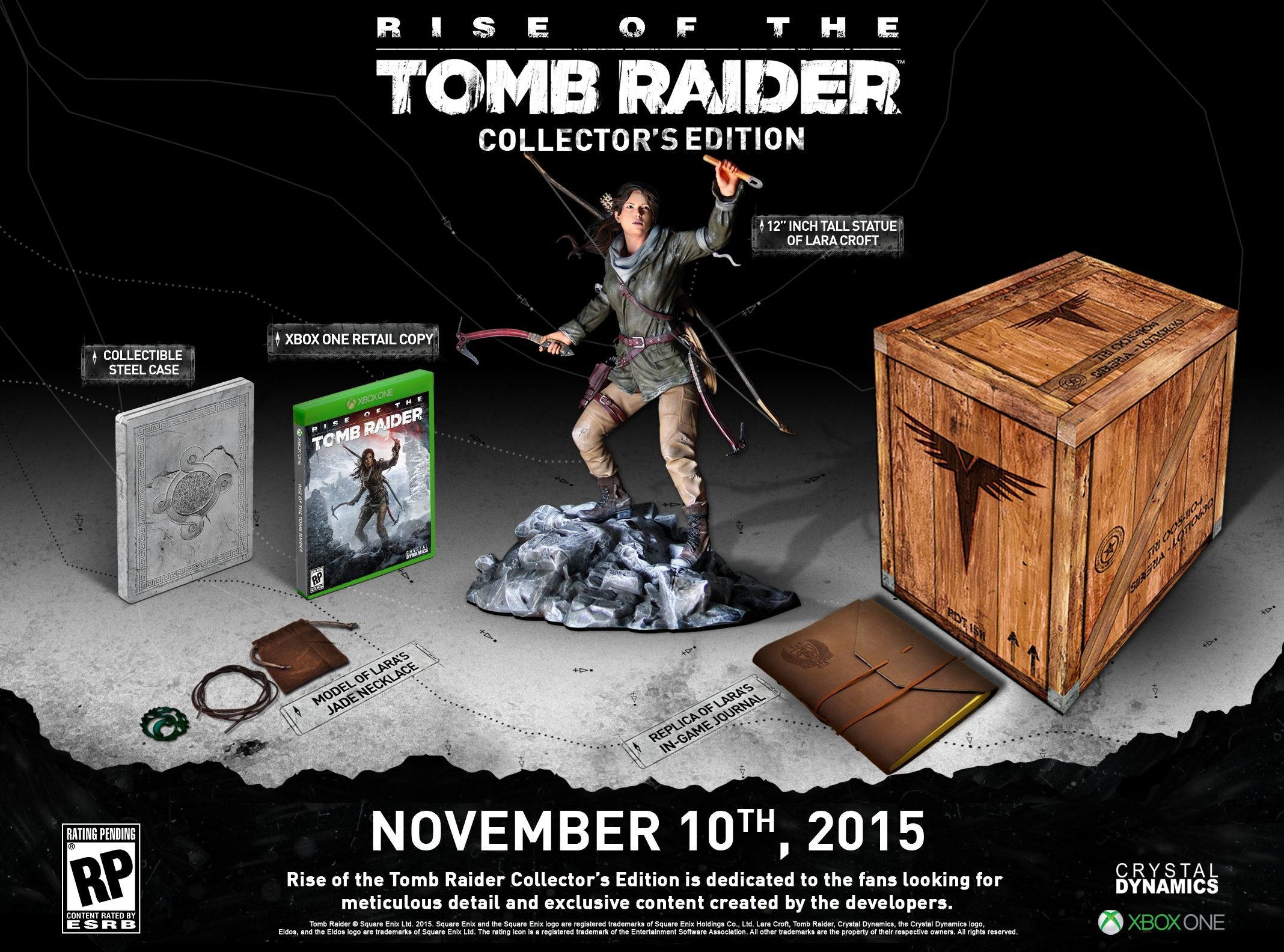 Rise Of The Tomb Raider Xbox One Collectors Edition