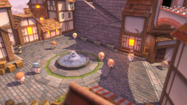 Image result for world of final fantasy town