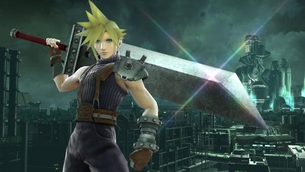 Super Smash Bros Adds Cloud Strife From Final Fantasy VII