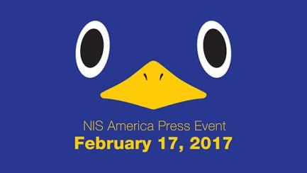 NIS America Press Event 2017