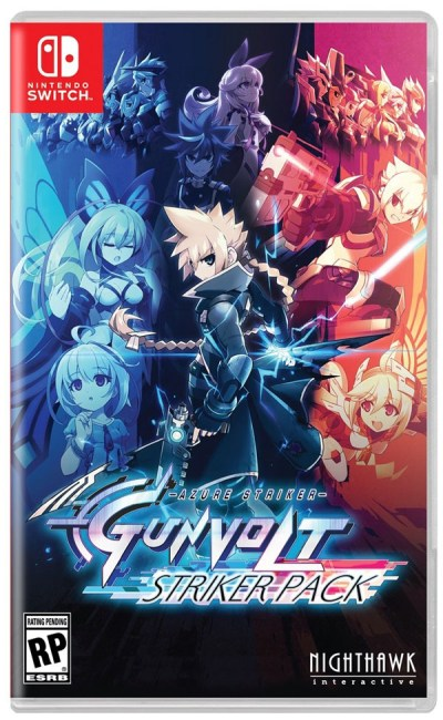 Azure Striker Gunvolt: Striker Pack (physique)