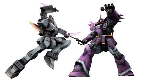 Gundam Versus DLC Mobile Suits 'Efreet' and 'Gundam Pixie'