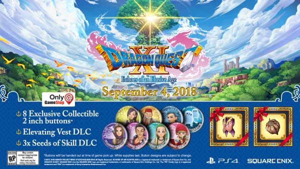 Dragon Quest XI PS4 pre-order bonuses announced for North ...