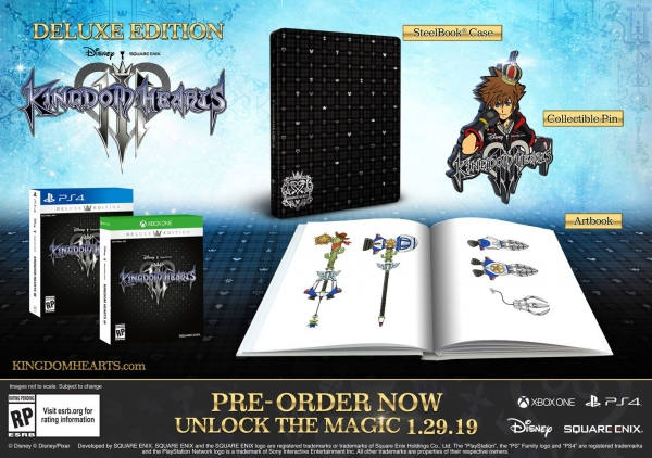 E3 2018: Kingdom Hearts III PS4 Pro coming