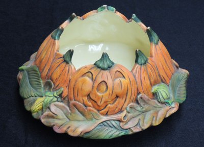pumpkincandleGem Ceramic Mold Lancaster Denver  - Molds