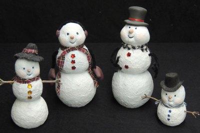 snowmanfamilyGem Ceramic Mold Lancaster Denver  - Molds