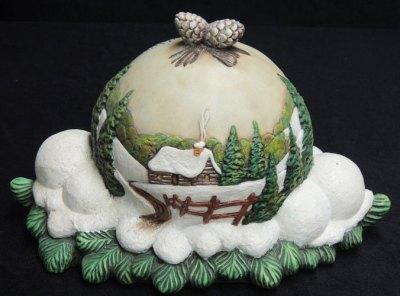 xmasballGem Ceramic Mold Lancaster Denver  - Molds