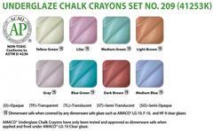 lg2 462 - Underglaze Chalk Crayon Set #209