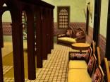 Sitzgruppen im Riad
