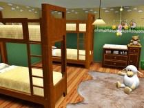 Schlaf- und Wickelraum
