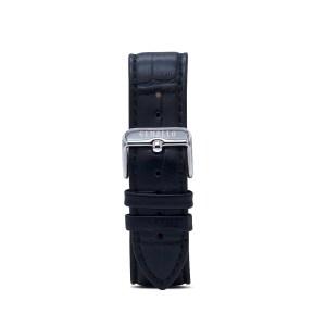 Black Leather Interchangeable Strap