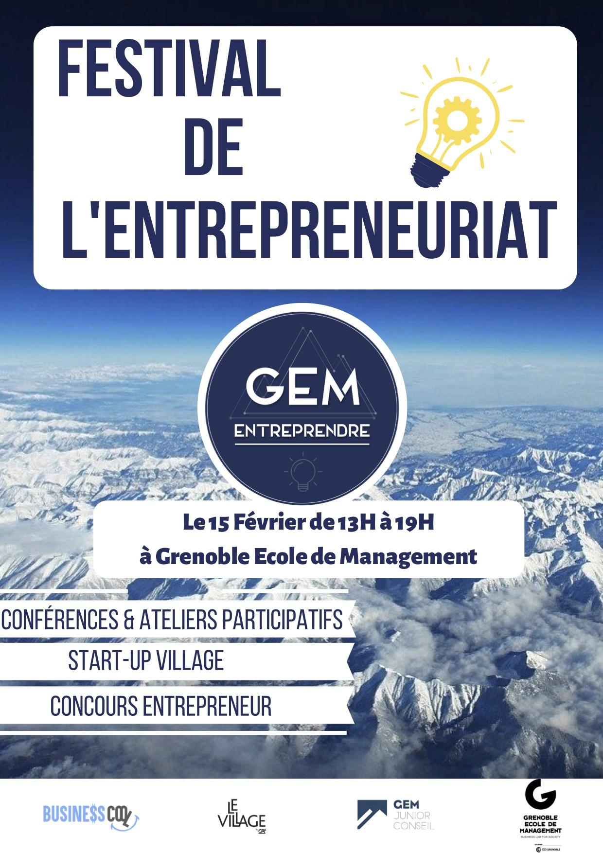Festival de l'entrepreneuriat Édition 2020