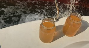 İzmit Körfezi'ni Kirleten Gemiye Ceza, Dirty Ballast Sample