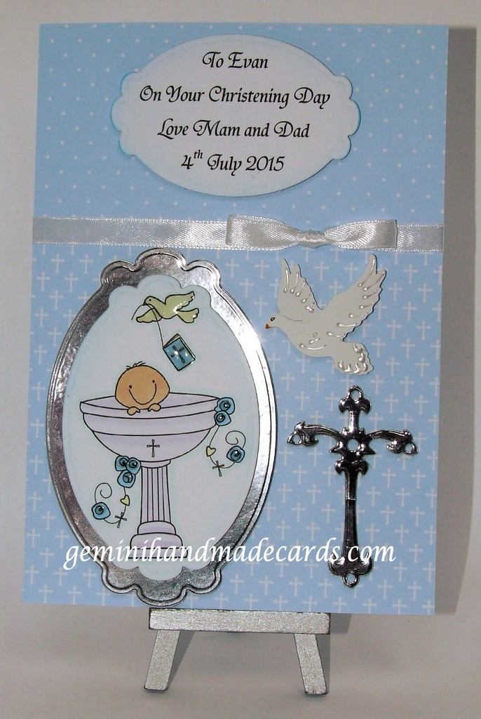 Christening Cards For Boys Older Child Young Adult