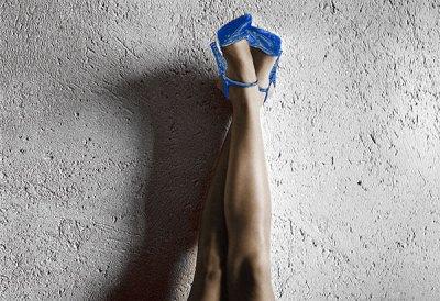 All American Legs (Blue)