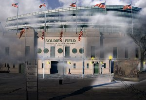 Image of Light Painting Soldier Field