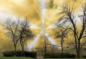 Image of Light Painting Strange Light