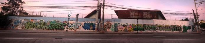 kalentong st graffiti panorama