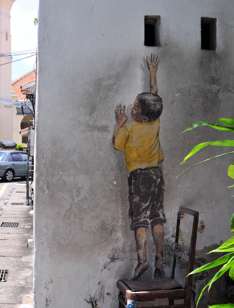 Georgetown, Penang, Malaysia street art
