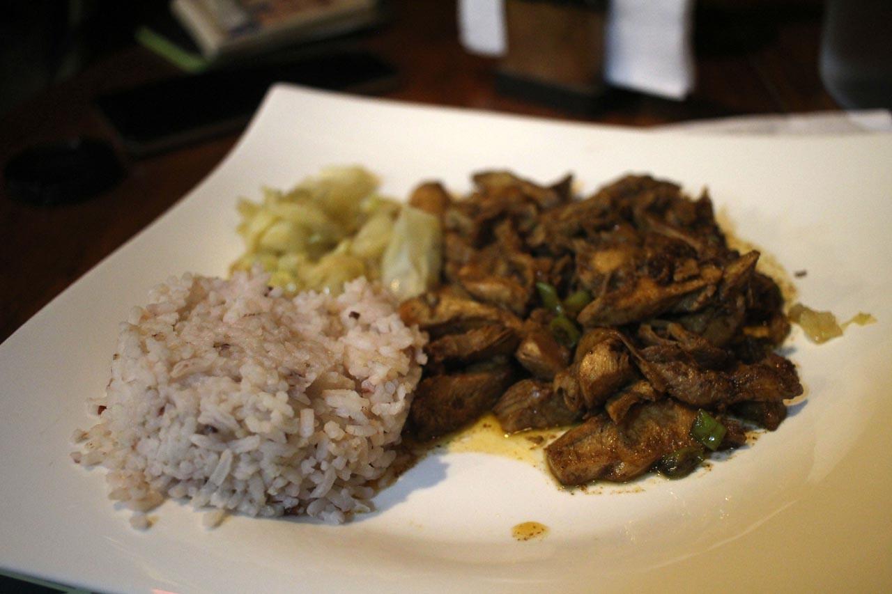 Sanafe Lodge food