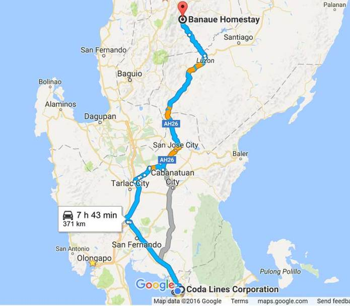 371 km drive