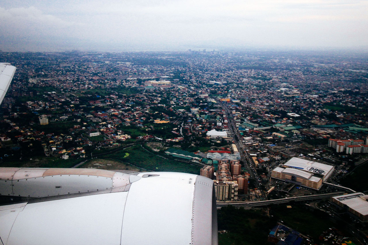 1- flight to Bangkok from Manila 11-2