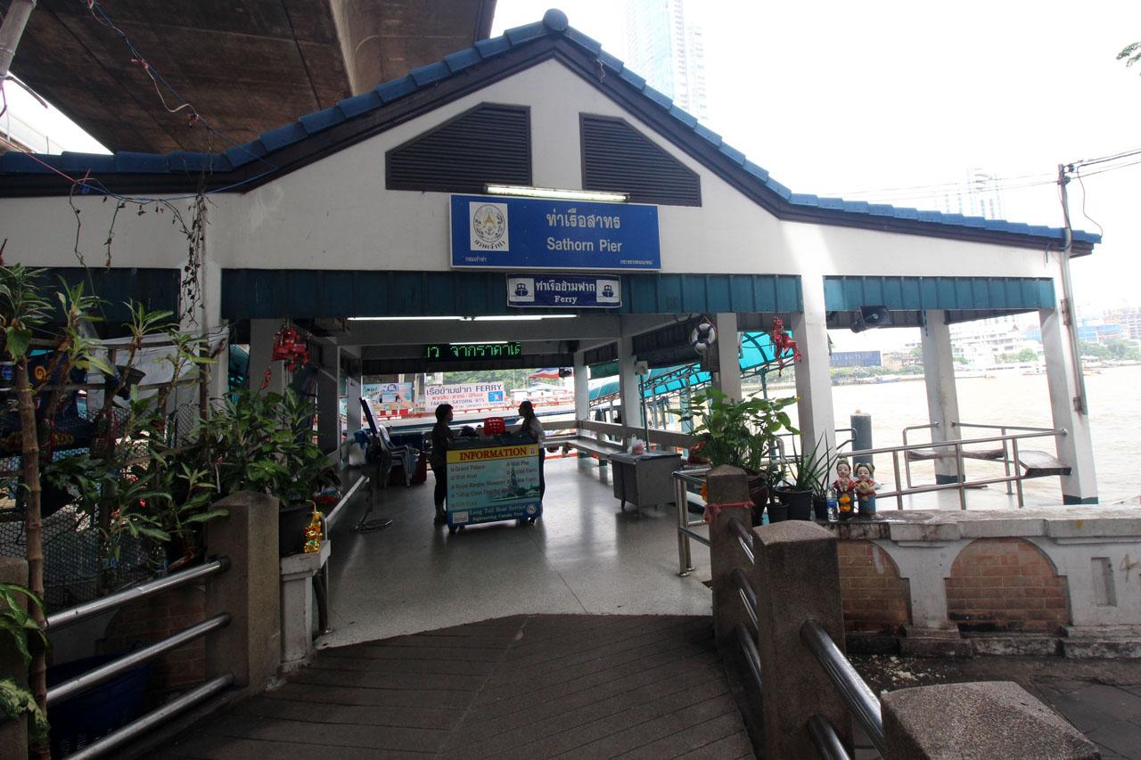 Sathorn Pier