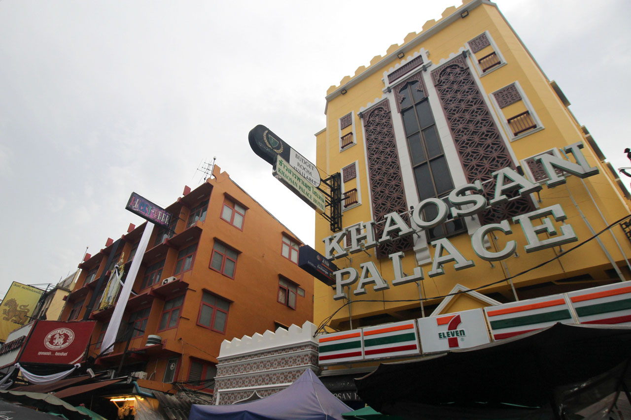 Khao San Road buildings