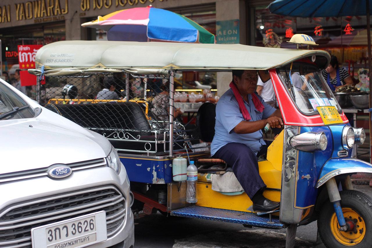 5-Day 2- Bangkok Chinatown 15 tuktuk