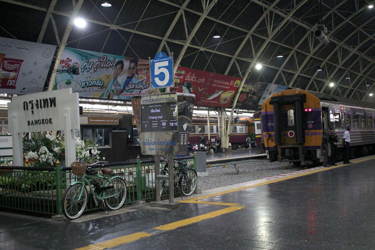 Bangkok Railway Station (Hua Lamphong)