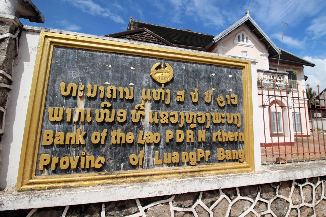 Bank of the Lao PDR Northern Provice of Luang Prabang