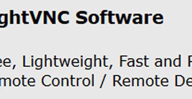 TightVNC affidabile telecomando/software desktop remoto
