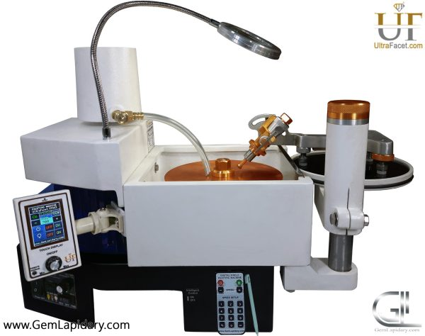 Imahashi Hand piece digital speed control faceting machine