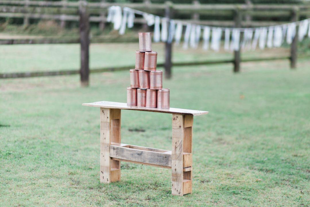 Wedding garden game