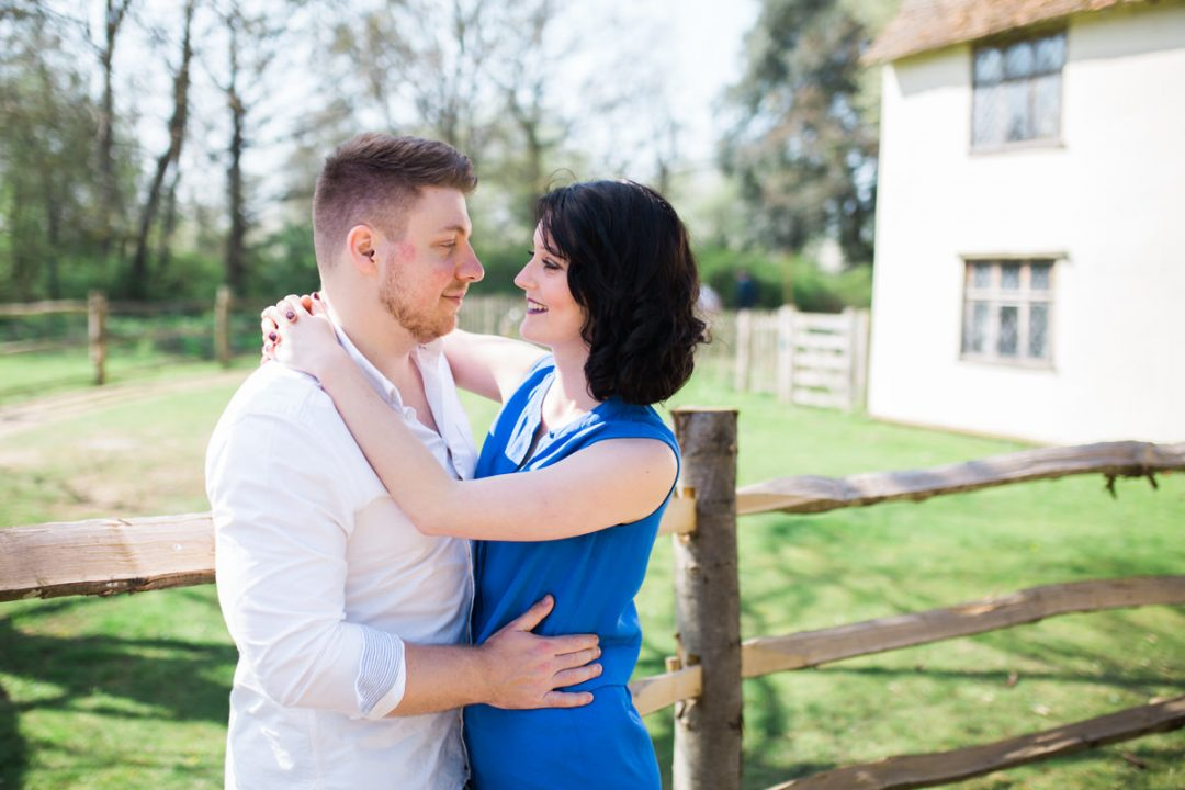 Flatford Mill couple photos