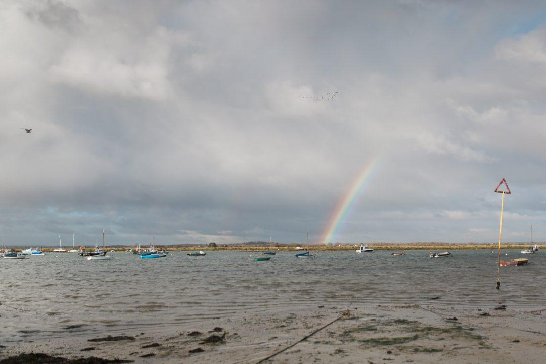 Mersea Island rainbow