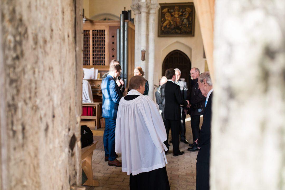 Mersea church wedding