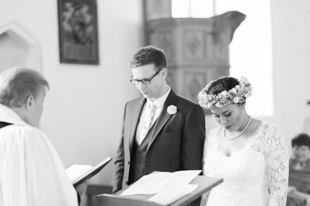 Colchester church wedding