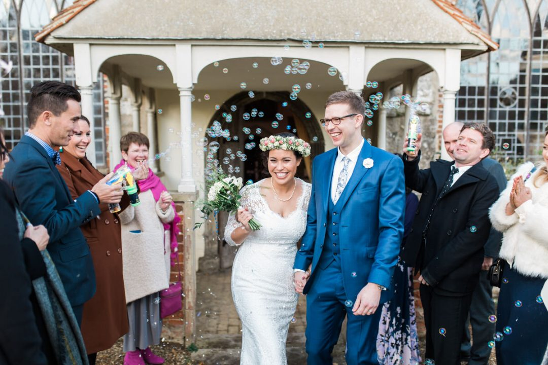 Saint Edmund Church wedding in East Mersea, Colchester