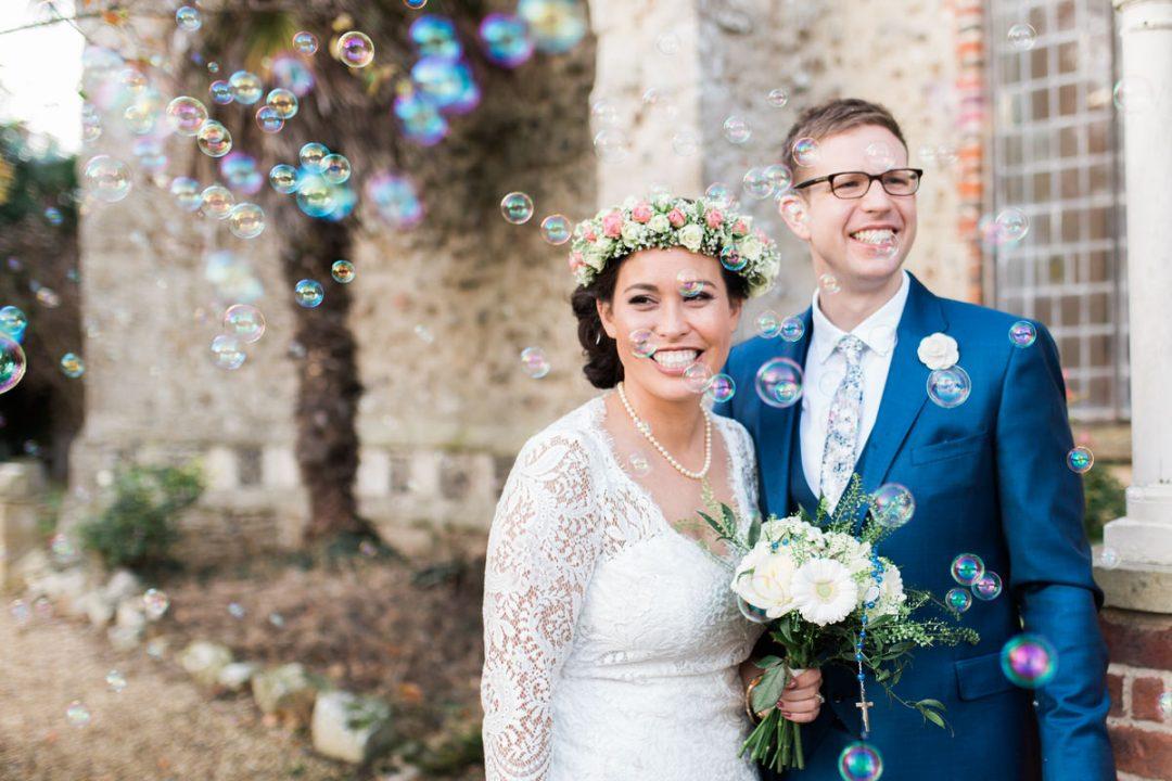Saint Edmund Church wedding in East Mersea, Colchester
