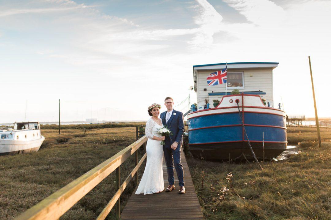 East Mersea boat house