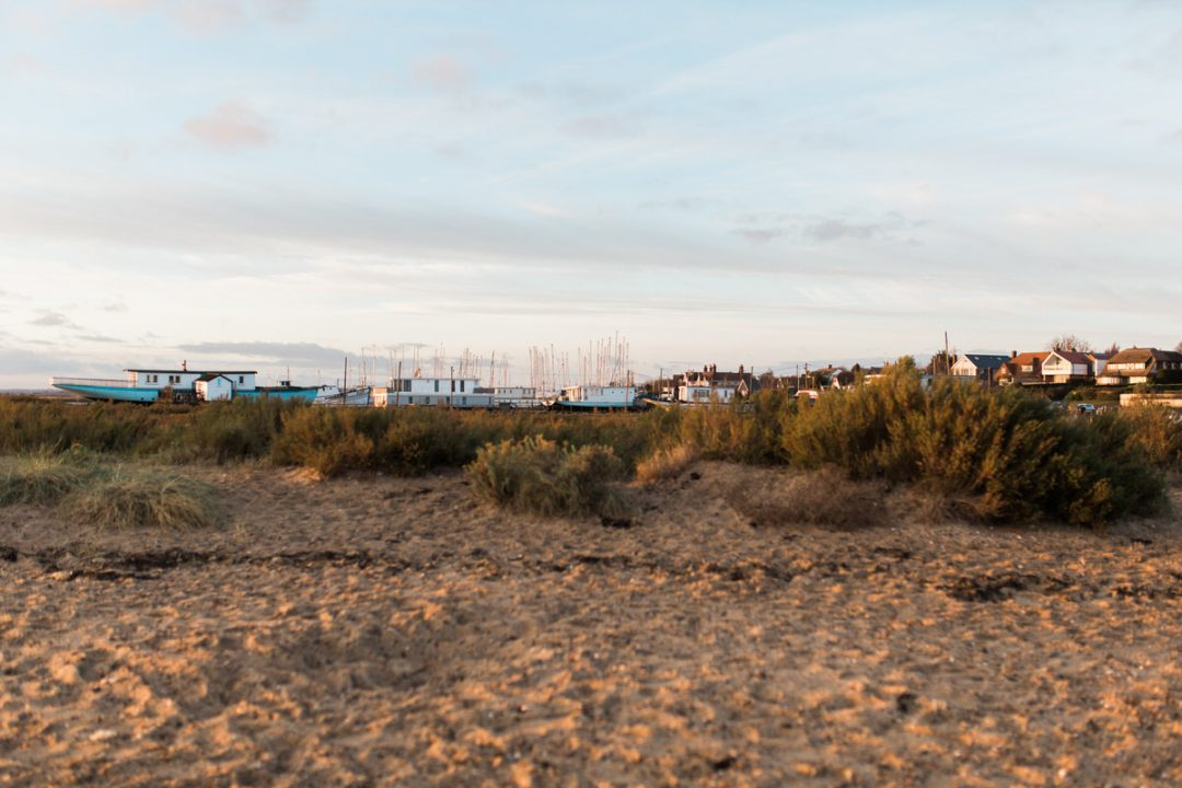 East Mersea beach