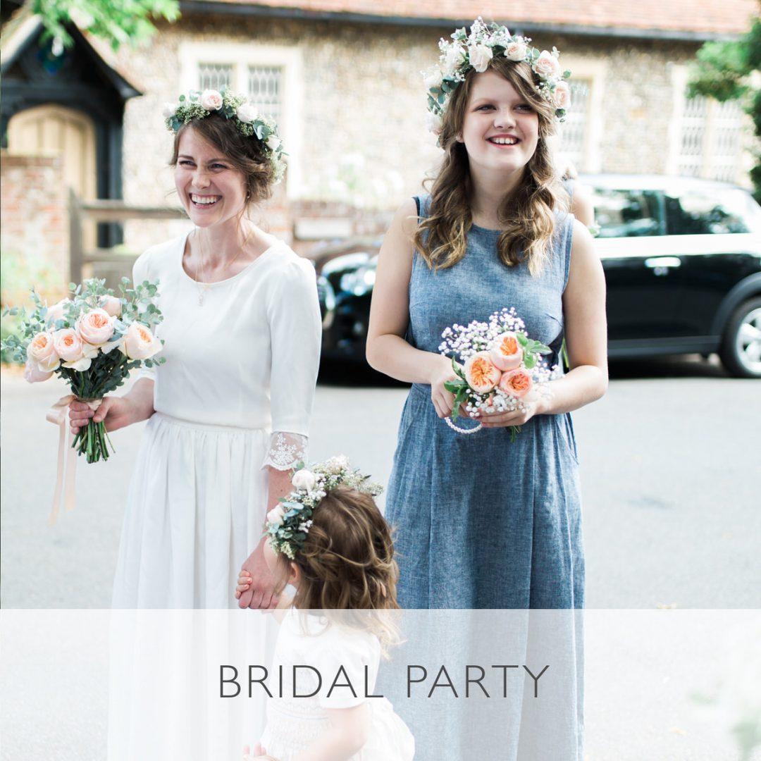 Sample wedding timeline, bridal party photos