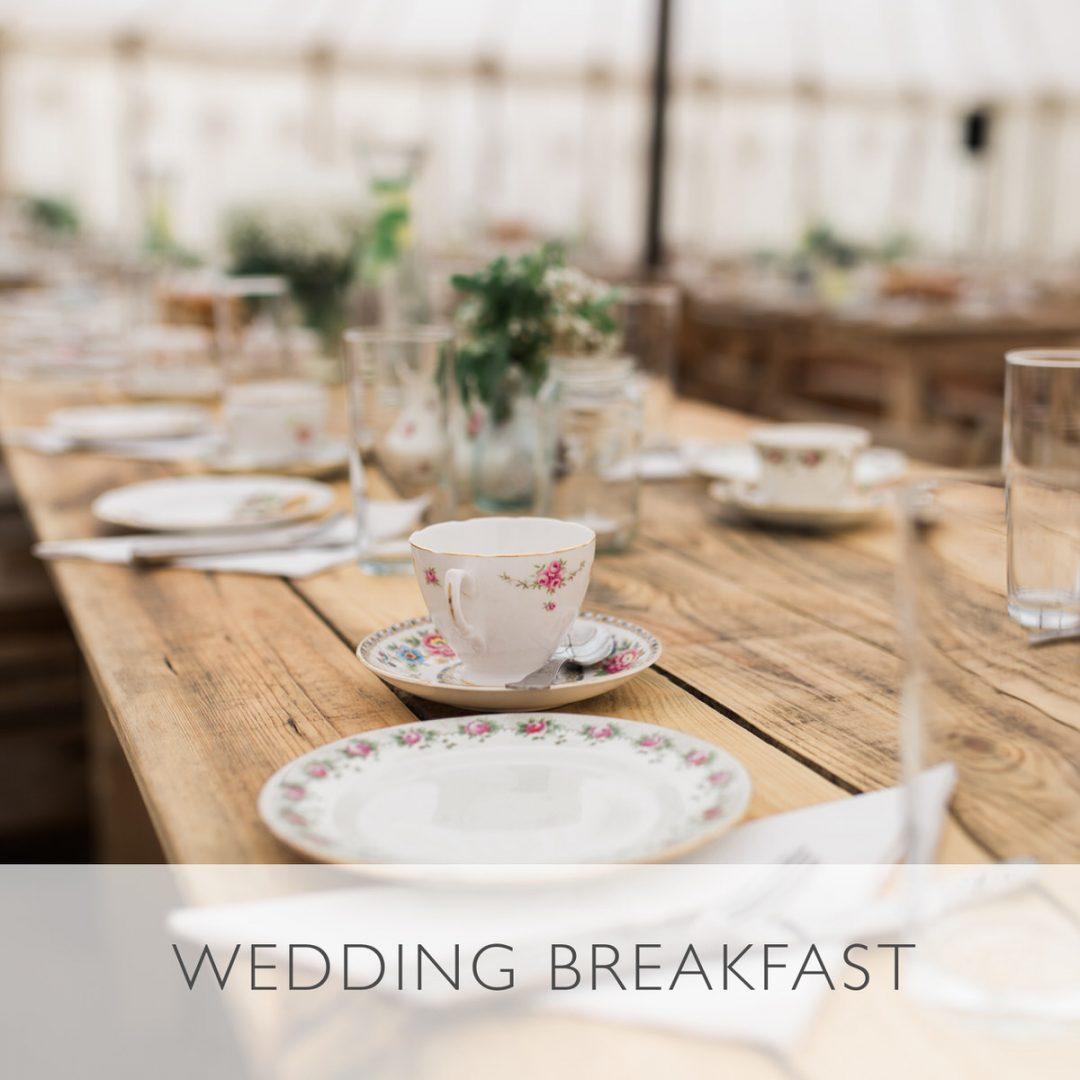 Wedding advice, sample wedding timeline, wedding breakfast